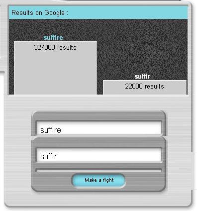 Googlefight a toujours raison